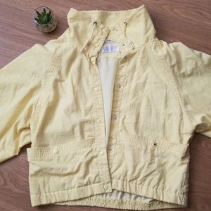 Nordstrom Yellow snap Jacket